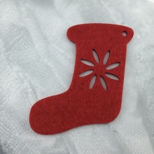 Die Cut Felt felt tree decorate christmas stocking