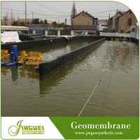 smooth hdpe geomembrane liner fish pond farming lining system