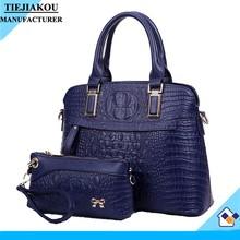 wholesale leather purses handbags pictures crocodile ladies bag custom