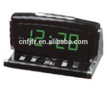 plastic digital led ABS decor table alarm clock