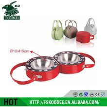 Travel Pet Bowl Stainless Steel Dog Bowls Pet Travel Bowl