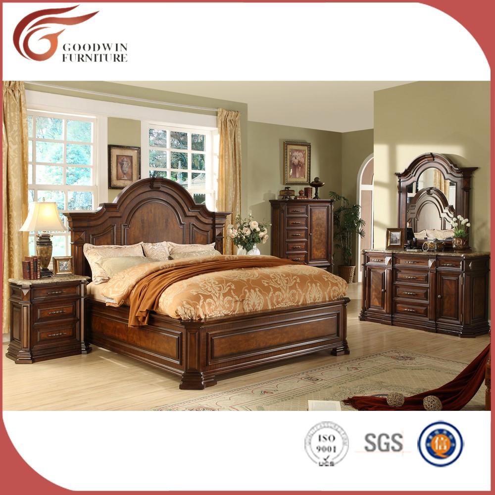 Cl 225 Sico De Lujo De Estilo Americano Muebles De Dormitorio