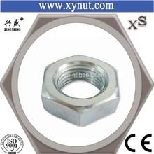 M10 12 14 thin hex Nut DIN934 white ZP Gr4/6/8