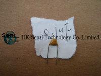 0.1UF Polypropylene Plastic Film Capacitor