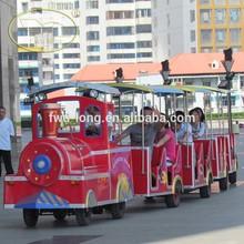 Best Quality Fiberglass Trackless Train 20 To 40 Seats Tourist Road Train