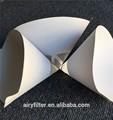 Airy papel pintura filtros cabine de pintura filtro