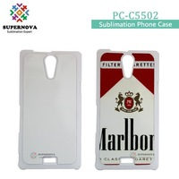 Customized PC Cell Phone Case for Sony C5502