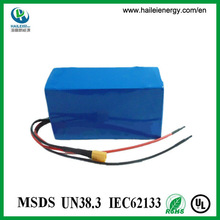 lithium rechargeable 24v electric bike battery