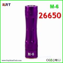2015 hottest mechanical mod vaporizer pen 26650 Skyline m6 mod clone