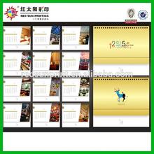 Advertising Printed Sliding Date Calendar China Supplier