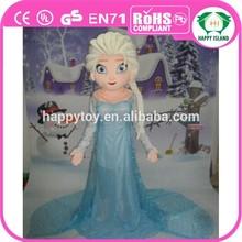 HI CE hot sale Frozen Elsa mascot costume,character Elsa mascot costume, movie Frozen Elsa mascot