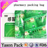 Yason sale to south america medical waste bag printing medical bag pe self sealing medical bags