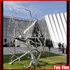 2015 Garden Decoration Stainless Steel Art Tree Sculpture