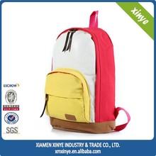 2015 Fashionable Canvas Girl Backpack School