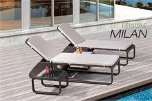 Macedonia Brook Elegent Outdoor/Resort pool furniture Resin Sun Lounger/chaise/beach/Recliner Chair