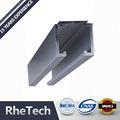 buena calidad de forma personalizada impresa de recubrimiento en polvo para la planta de aluminio de perfil