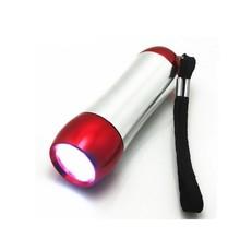 mini 9 led aluminum flashlight torch