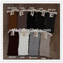 Wholesale China Efan lace boot cuff socks,cycling leg warmer,boot cuffs,women adult socks hiking leg warmer