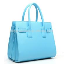 New Fashion PU Leather Satchel Tote Women Hobo Tote Bag