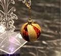 di design brillante palla di natale decorazioni fatte a mano sfera di plastica di natale