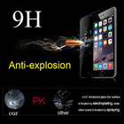 Newest! Factory price mobile phone 0.2mm/0.3mm Tempered Glass Screen protector/film for iphone 6