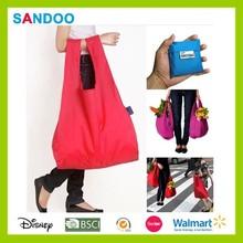 Cheap nylon foldable shopping bag, eco shopping bag