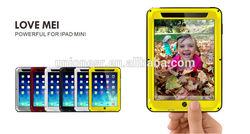 Love Mei Gorilla Glass Aluminum Waterproof Case For Ipad Mini,Waterproof Mobile Phone Case For Ipad Mini