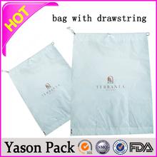 YASON pe drawstring bagsfashion small color drawstring non woven gift bagcotton drawstring bag