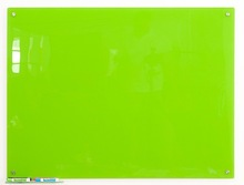 90*120cm Magnetic Glass white green writing board