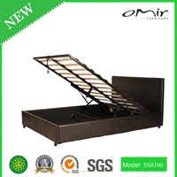 italy design latest leisure style leather bed