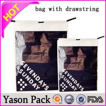 Yason pp cotton drawstring bag drawstring tea bag colorful essential value drawstring gift tote bag