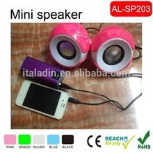 2015 good price multimedia 2.0 speaker, 2.0 computer sound box,mobile phone ball speaker