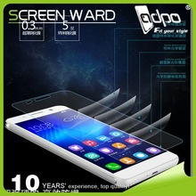 Excellent quality hot sell screen guard for huawei ascend p7 tempered glass screen protector