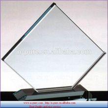 Handmade wholesale Customized Blank Crystal For Trophy Awards