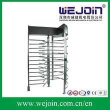 automatic single routeway full height turnstile for office building access control