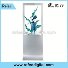 32/42/55/65/Floor Standing 55inch full hd floor stand outfoor ad player top quality supermarket/shopping mall/stores/station