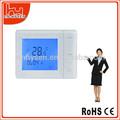gran pantalla lcd digital de la temperatura ambiente para controlador programable calderas