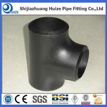 carbon steel oil &gas used pipe line steel tee