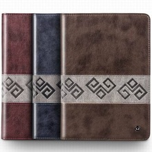 Retro vintage PU leather flip for Apple ipad air case sleep &wake up function stand smart cover for ipad 5