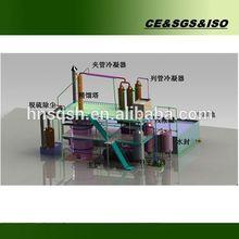 Machine tiny design vacuum diesel advanced distillation