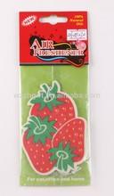 fruit paper air freshner