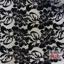 2015 black cheap voile fabric Sri Lanka Ms shawls lace sequin mesh lace fabric