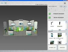 Sale Latest Trade Show Booth Design Software