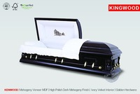 Italian style Cardboard Casket Beds KENWOOD woodcasket US coffin
