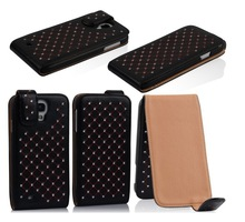 Wholesale stylish mobile cover diamond appearance phone case for Samsung Galaxy S4