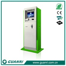 Guanri k12 self assistant touch panel, management system interactive bill payment kiosk machine