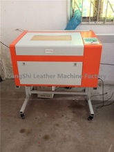 Special antique wallet leather laser cutting machine