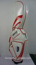 2015 Beautiful golf bags \ top PU golf bags \ new design golf bags