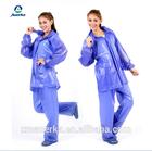 New TYPE PVC transparent rain suit/raincoat