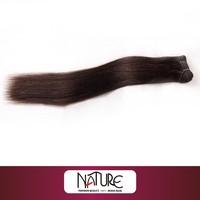 Henan REBECCA 100% Indian/brazilian human hair sew in weave silky straight virgin human hair extension